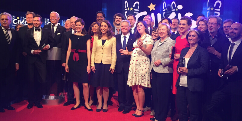 Rede zur Verleihung des Europäischen CIVIS Medienpreises 2016
