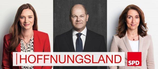 """Terminankündigung: Talk mit Olaf Scholz zu seinem Buch """"Hoffnungsland"""""""