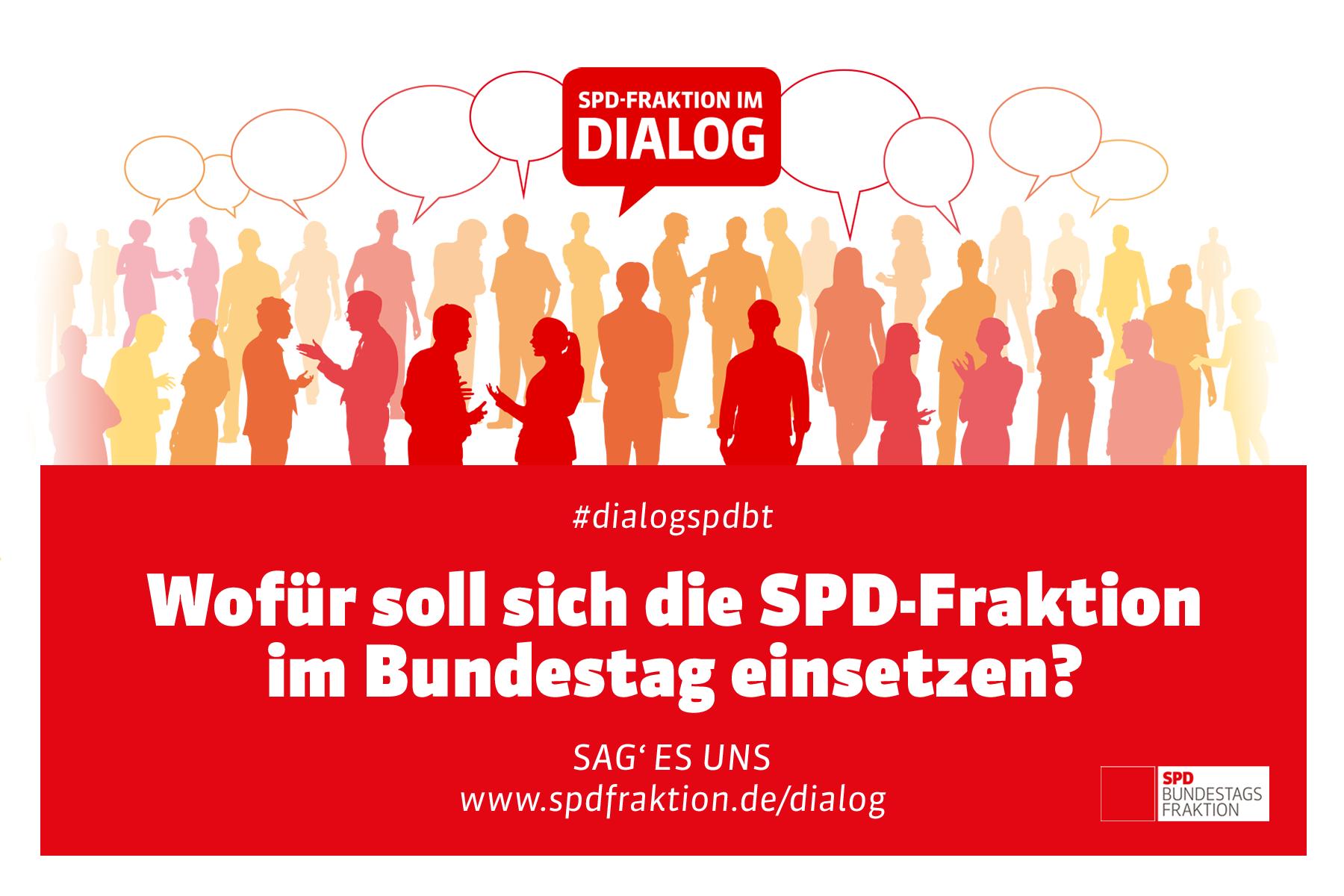 "Aktionswoche ""SPD-Fraktion im Dialog"" startet heute"