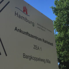 Besuch von Erstaufnahme und der Jungheinrich AG