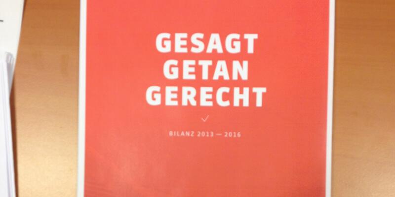 Bilanz der SPD-Bundestagsfraktion