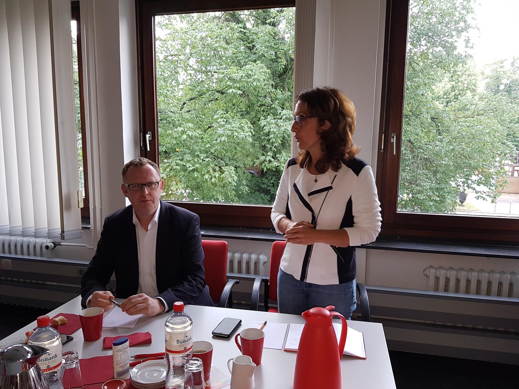 """Bericht vom Politikfrühstück: """"Für die Mobilität von morgen: Mehr U- und S-Bahnen für den Bezirk Wandsbek"""""""